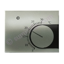 Tapa termostato calefaccion 8440 nc niquel cava Olas Niessen