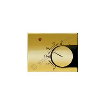 Tapa termostato calefaccion 8440or oro olas niessen precio for Precio termostato calefaccion