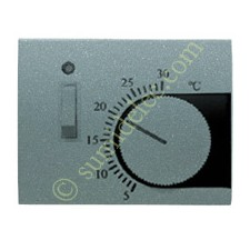 Tapa termostato interruptor 8440.1ga gris artico Olas Niessen