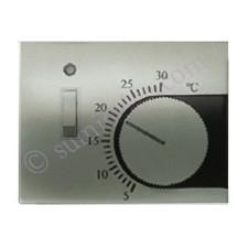 Tapa termostato interruptor 8440.1 nc niquel cava Olas Niessen
