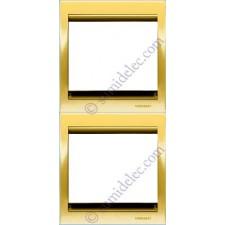 Marco 2 elementos vertical oro 8472or serie Olas Niessen