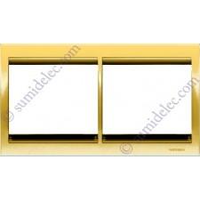 Marco 2 elementos horizontal oro 8472.1or serie Olas Niessen