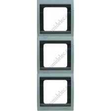 Marco 3 elementos vertical gris artico 8473ga serie Olas Niessen