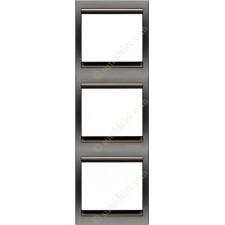 Marco 3 elementos vertical acero perla 8473ap serie Olas Niessen
