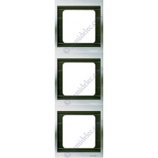Marco 3 elementos vertical titanio 8473tt serie Olas Niessen