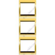 Marco 3 elementos vertical oro 8473or serie Olas Niessen
