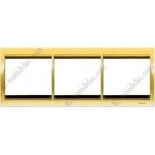 Marco 3 elementos horizontal oro 8473.1or Olas Niessen