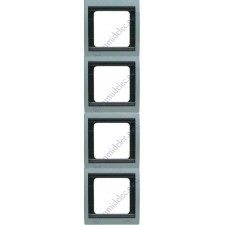 Marco 4 elementos vertical gris artico 8474ga serie Olas Niessen