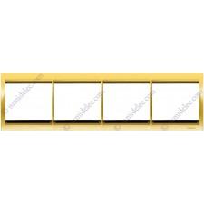 Marco 4 elementos horizontal oro 8474.1or Olas Niessen