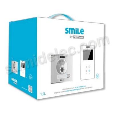 "Videoportero Fermax Smile kit 2 líneas 5062 digital 3,5"" color"