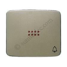 Tecla pulsador visor simbolo timbre champan 82043ch Arco