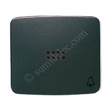 Tecla pulsador visor simbolo timbre grafito 82043gf Arco