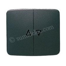 Tecla interruptor pulsador persianas grafito 8244gf Arco
