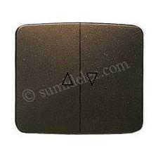 Tecla interruptor pulsador persianas bronce 8244br Arco