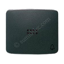Tecla pulsador visor simbolo timbre antracita 82043an Arco
