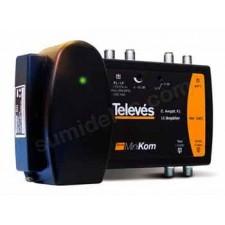 Central amplificacion terrestre sat 2e/1s MiniKom 5363 Televes