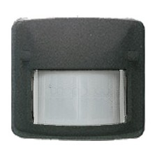 Sensor detector movimiento infrarrojo grafito 82411gf Arco