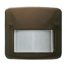 Sensor detector movimiento infrarrojo bronce 82411br Arco