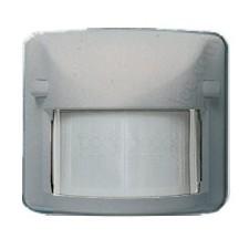 Sensor detector movimiento infrarrojo plata mate 82411pm Arco