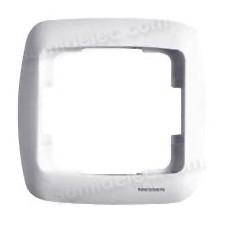 Marco 1 elemento blanco solido 8371BS Arco Moderno Niessen