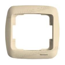Marco 1 elemento crema 8371CR Arco Moderno Niessen
