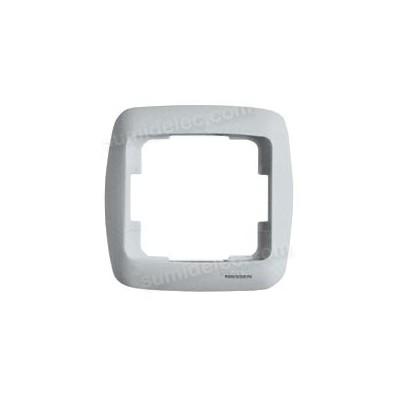 Marco 1 elemento plata mate 8371PM Arco Moderno Niessen
