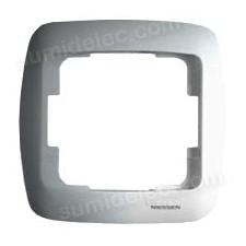 Marco 1 elemento plata 8371PL Arco Moderno Niessen