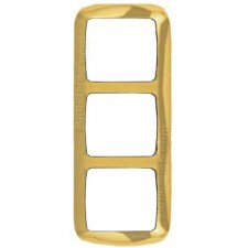 Marco 3 elementos vertical oro 8373OR Arco Moderno Niessen
