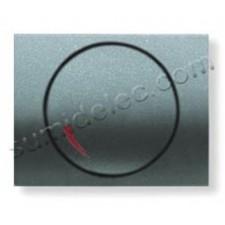 Tapa boton regulador electronico 8460.2GA gris artico Olas Niess