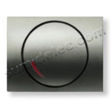 Tapa regulador electronico 8460.2 NC niquel cava Olas Niessen