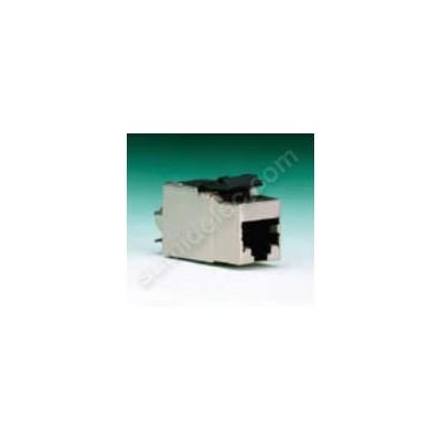 Conector modular RJ45 apantallado...