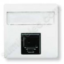 Toma informatica rj45 8 contactos blanco 22185BA Stylo Niessen