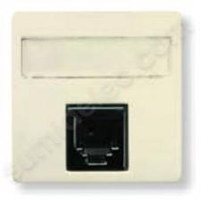 Toma informatica rj45 8 contactos marfil 22185BM Stylo Niessen