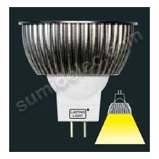 Bombilla dicroica mr16 LED12v 6w GU5.3 477 lumenes 5000k Sharp
