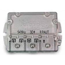 Repartidor 3 salidas EMC 9/8dB PAU 543902 televes