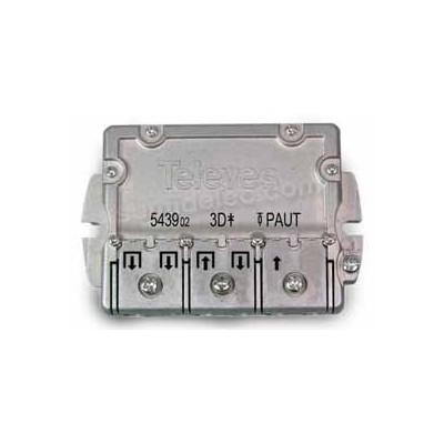 Repartidor 3 salidas EMC 9/8dB PAU...