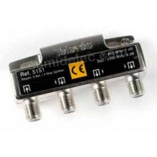 Repartidor 3 salidas 7/9dB 5/2400MHz 5151 televes