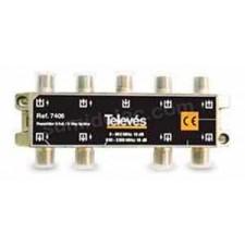 Repartidor 8 salidas televes 7406 13/18dB 5/2400MHz