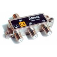 Repartidor televes 3 salidas 5/1000MHz 6dB 4532