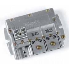 Derivador interior 4 salidas easyF plantas 4-5 televes 544602