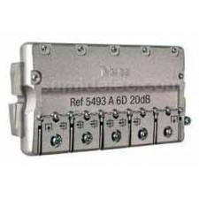 Derivador 6 salidas 5493 televes tipo A-plantas 2-3