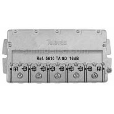 Derivador 8 salidas tipo TA-planta 1 televes 5610