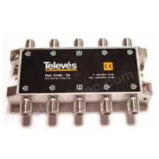 Derivador interior tipo TA 8D planta 1 Televes 5146