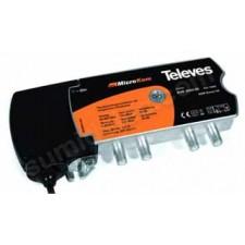 Amplificador retorno fijo Televes Microkom 534302 g25/30dB