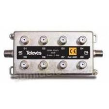 Derivador interior 8 salidas 20dB 5-1000MHz 4581 Televes