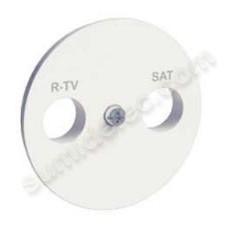 Tapa toma tv-sat S520441 serie Odace Schneider