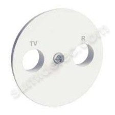 Tapa toma television radio S520440 Schneider serie Odace