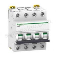 Interruptor automatico 4P 10A Schneider A9F79410