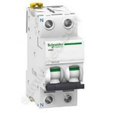 Interruptor automatico terciario 6A A9F79606 1P+N Schneider