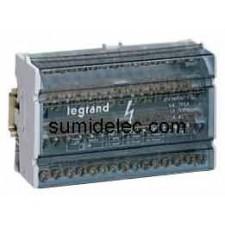 Repartidor tetrapolar legrand 4 barras 04885 40A 6 módulos